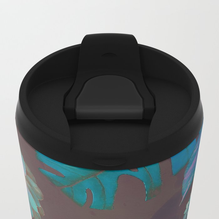 Exotic Gloomy Garden Travel Mug