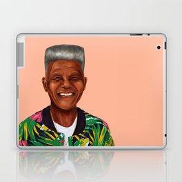 Hipstory - Nelson Mandela Laptop & iPad Skin