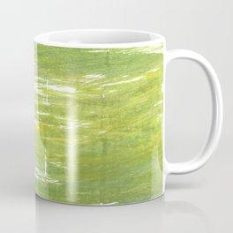 Moss green abstract watercolor Coffee Mug