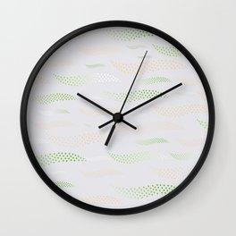 Waves / Tiger (stylized pattern) 21 Wall Clock