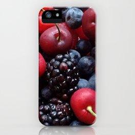 Cherries 'n Berries iPhone Case