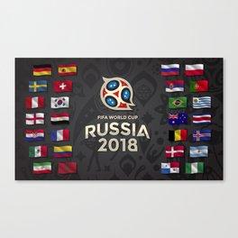 Russia 2018 Canvas Print