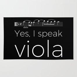 Yes, I speak viola Rug