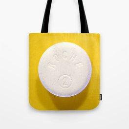 Yellow Rohypnol Tote Bag