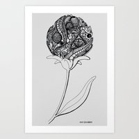 Blooming Madness Art Print