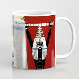 """The Egyptian"" Art Deco Illustration Coffee Mug"