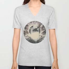 New day new mountains to climb Unisex V-Neck