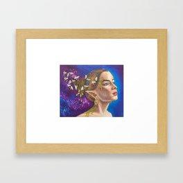 Mother Bee Framed Art Print
