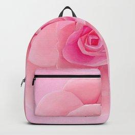 Pink Rose Backpack