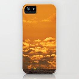 Green Flash. iPhone Case
