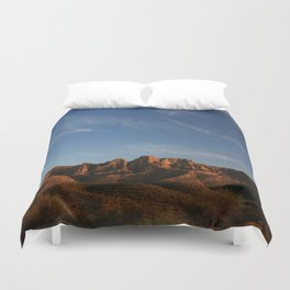 The majesty of the mountains at Catalina State Park III Duvet Cover