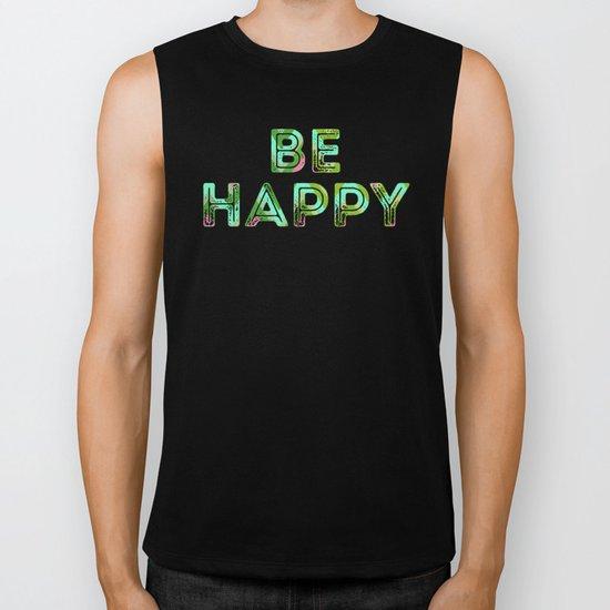 HappyChevron Biker Tank