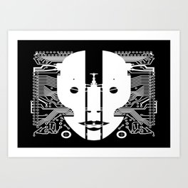 Connected Art Print