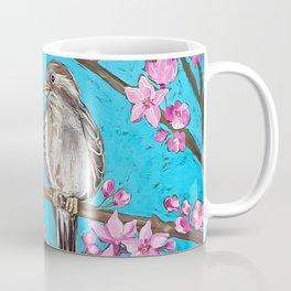 Spring Sparrows and Cherry Blossoms Coffee Mug