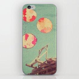 copper dust iPhone Skin