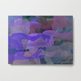 Ghosty Ocean Metal Print