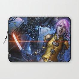 Fighter Girl Laptop Sleeve