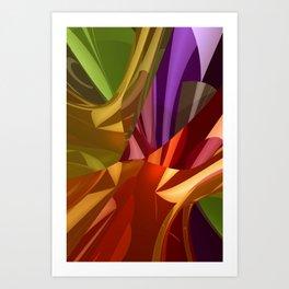 3d polynomials -2- Kunstdrucke