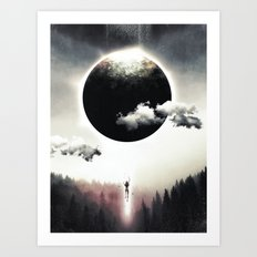 A Dream of Gravity Art Print