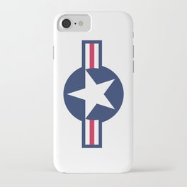 US Air force insignia HD image iPhone Case