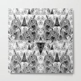 Triangulum Nigrum ad Mortem Metal Print