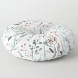 Eucalyptus Leaf Floor Pillow