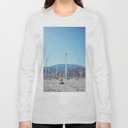 Palm Springs Windmills IV Long Sleeve T-shirt