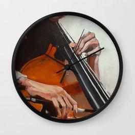 The Bassist Wall Clock