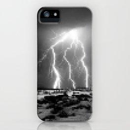 Raging-Brightness Lightning iPhone Case