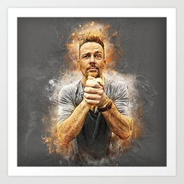 Earnestly Flanery Art Print