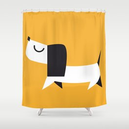 Yelow Dog Shower Curtain