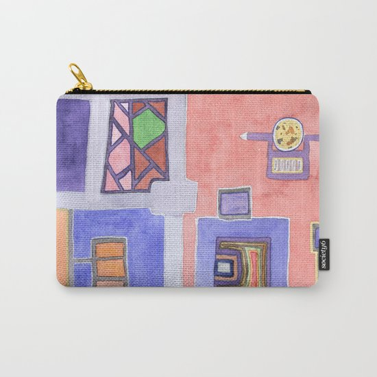 The Golden Plate Carry-All Pouch