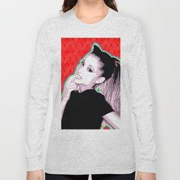 Ariana | Pop Art Long Sleeve T-shirt
