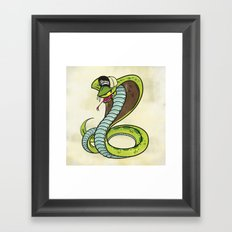 Bronx Zoo Cobra! Framed Art Print