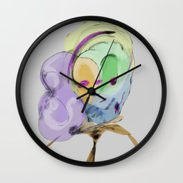 Afternoon Pattern Wall Clock