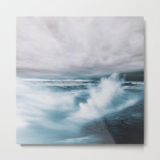 Moody Ocean Metal Print