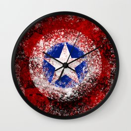 Avengers - Captain America Wall Clock
