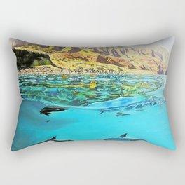 view of Kauai, HI Rectangular Pillow