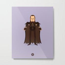The Undertaker - Pro Wrestling Illustration Metal Print