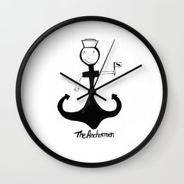 I'm your anchorman Wall Clock