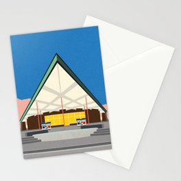 Tramway Gas Station Palm Springs Stationery Cards
