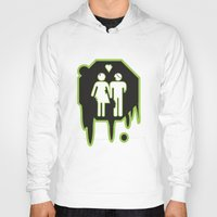 zombies Hoodies featuring Zombies by JJ Fry