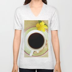 Coffee Time 3 Unisex V-Neck