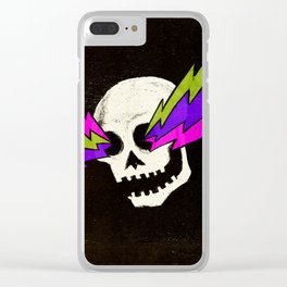 Variations on a Skull Part One Clear iPhone Case