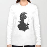camus Long Sleeve T-shirts featuring Camus 2 by reymonstruo