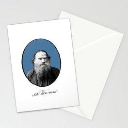 Authors - Lev Tolstoj Stationery Cards