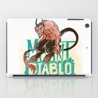 diablo iPad Cases featuring Mount Diablo by Monica McClain