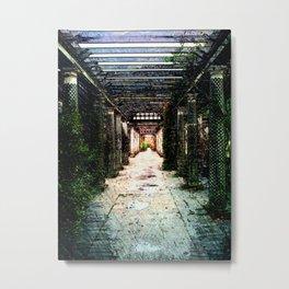 Hampstead Garden Metal Print