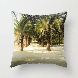 Tunnel Vision Throw Pillow