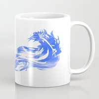 final fantasy Mugs featuring FINAL FANTASY X  by DrakenStuff+